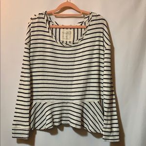 Free People small, striped thermal